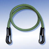 Expander olivgrün mit Kunststoff-Haken Tensioning Belt olive-green, with Snap-Hook