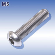 Linsenkopfschrauben M5 mit Innensechskant Hexagon socket button head screws
