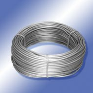 Planenseile silber PVC Cable free of cadmium silver