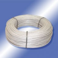 Planenseile Nylon transluzent PVC Cable with inside nylon wire transparent