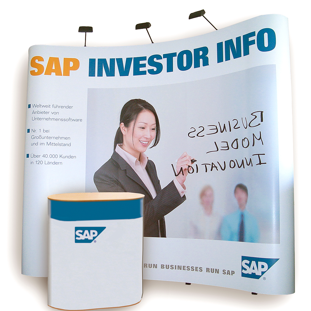 Bannersysteme Pop-Up / Rollbanner / L-Banner / X-Banner